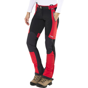 Directalpine Cascade Plus 1.0 Pantalon Softshell Femme, red